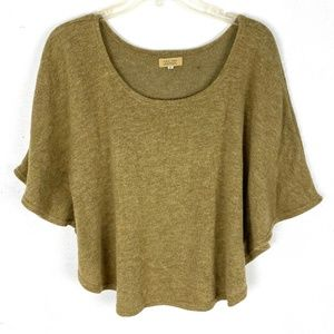 Anthropologie Piko 1988 short sleeve knit top